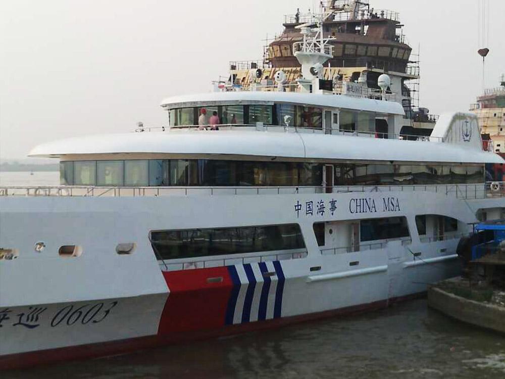 海巡0603-江苏海事60米综合应急指挥船